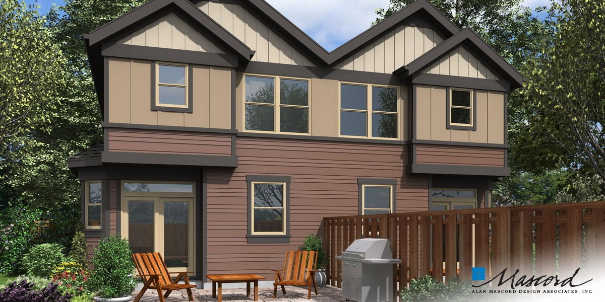 Image for Cascades-Well proportioned Spaces with Great Personal Areas-Rear Rendering