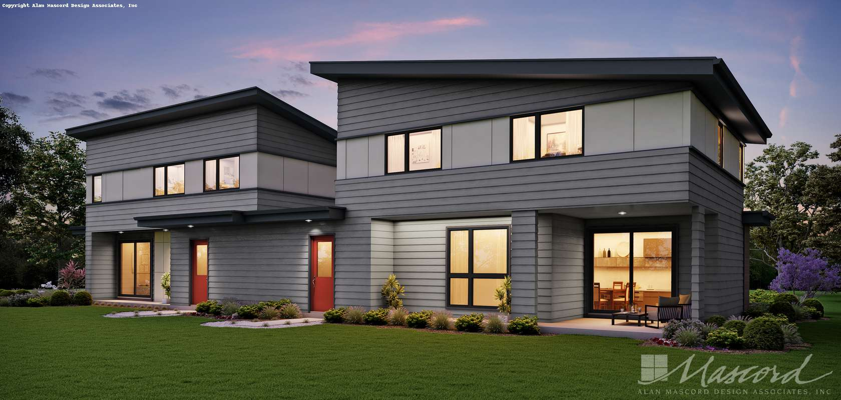Mascord House Plan 4047: The Coen