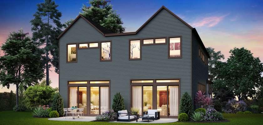 Mascord House Plan 4048: The Maplewood