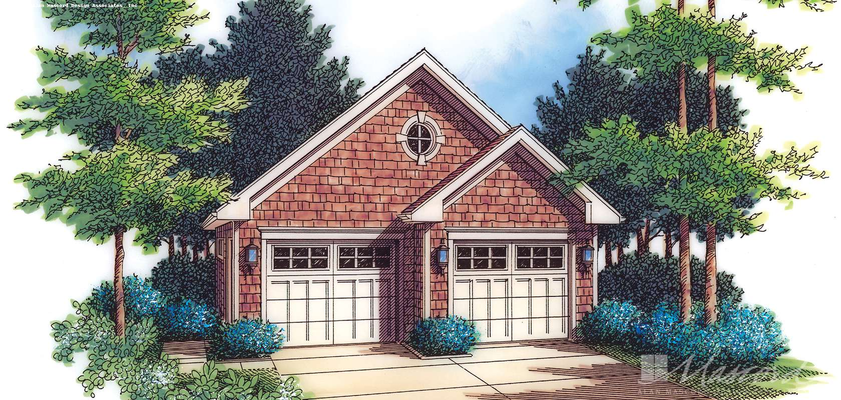 Mascord House Plan 5001: The Pikes Peak