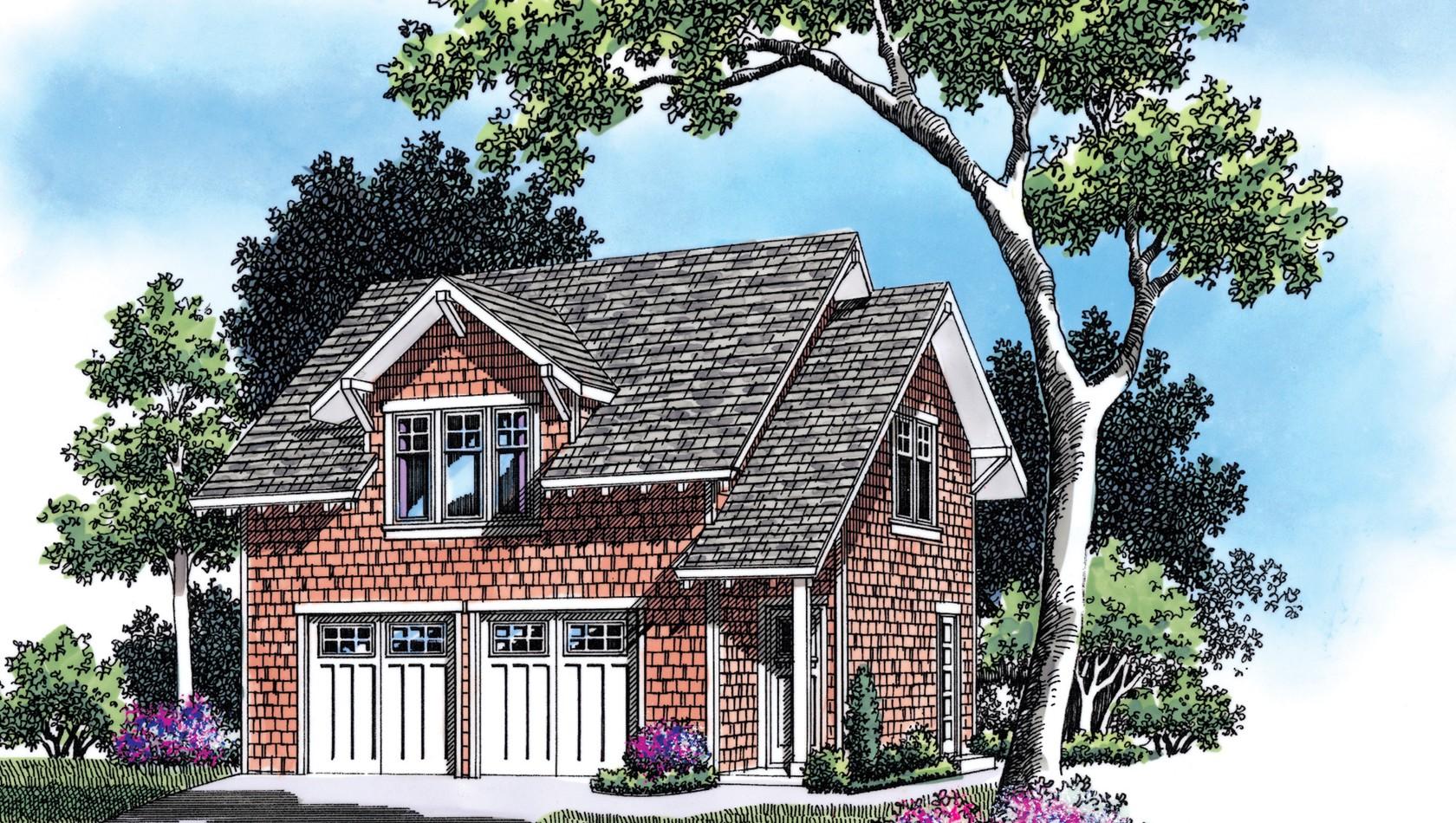 Mascord House Plan 5011: The Arthur