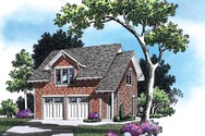 Front Rendering of Mascord House Plan 5011 - The Arthur