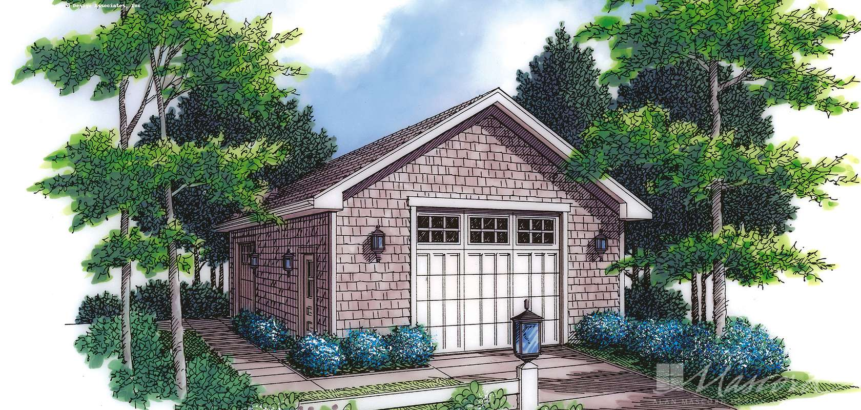 Mascord House Plan 5013: The Rossi