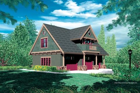 Mascord House Plan 5016 The Athena