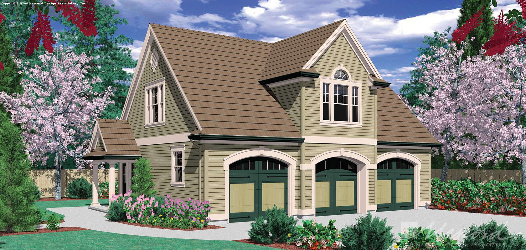 Mascord House Plan 5016B: The Eastman