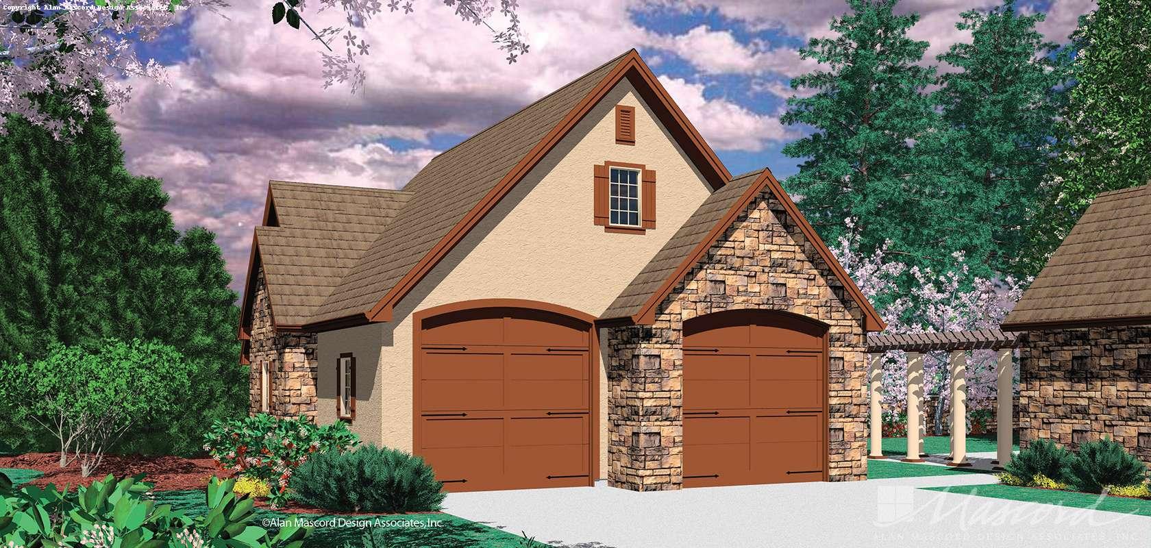 Mascord House Plan 5019: The Pocono