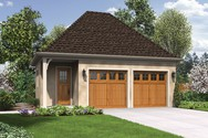 Front Rendering of Mascord House Plan 5032