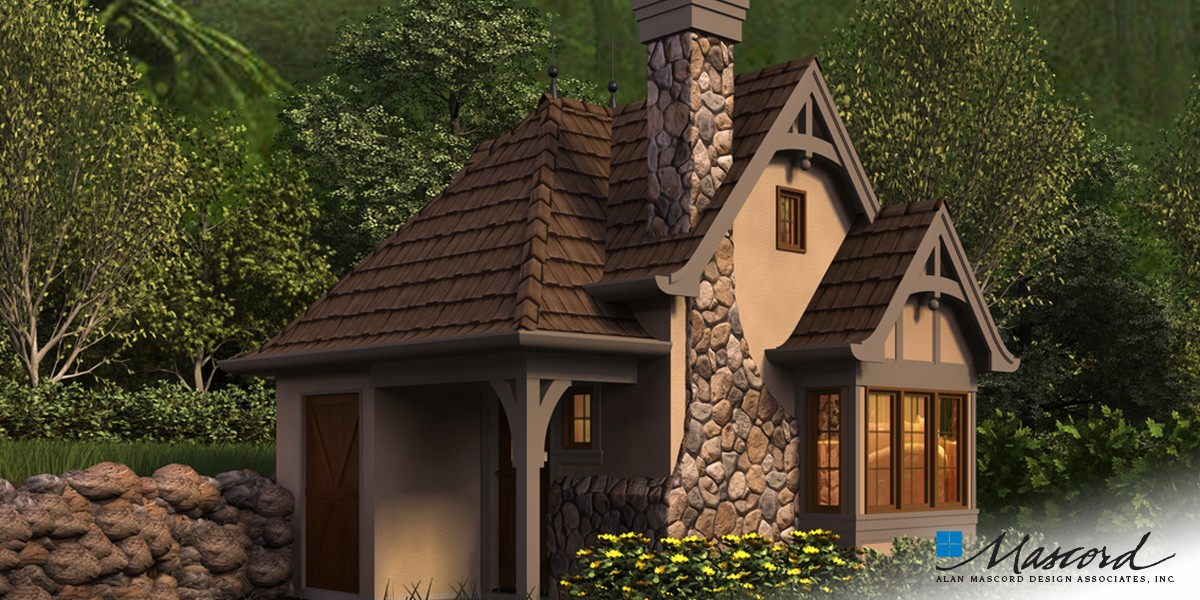 Image for Bucklebury-Whimsical Day Use Shop, Potting Shed or Hideout-Front Rendering