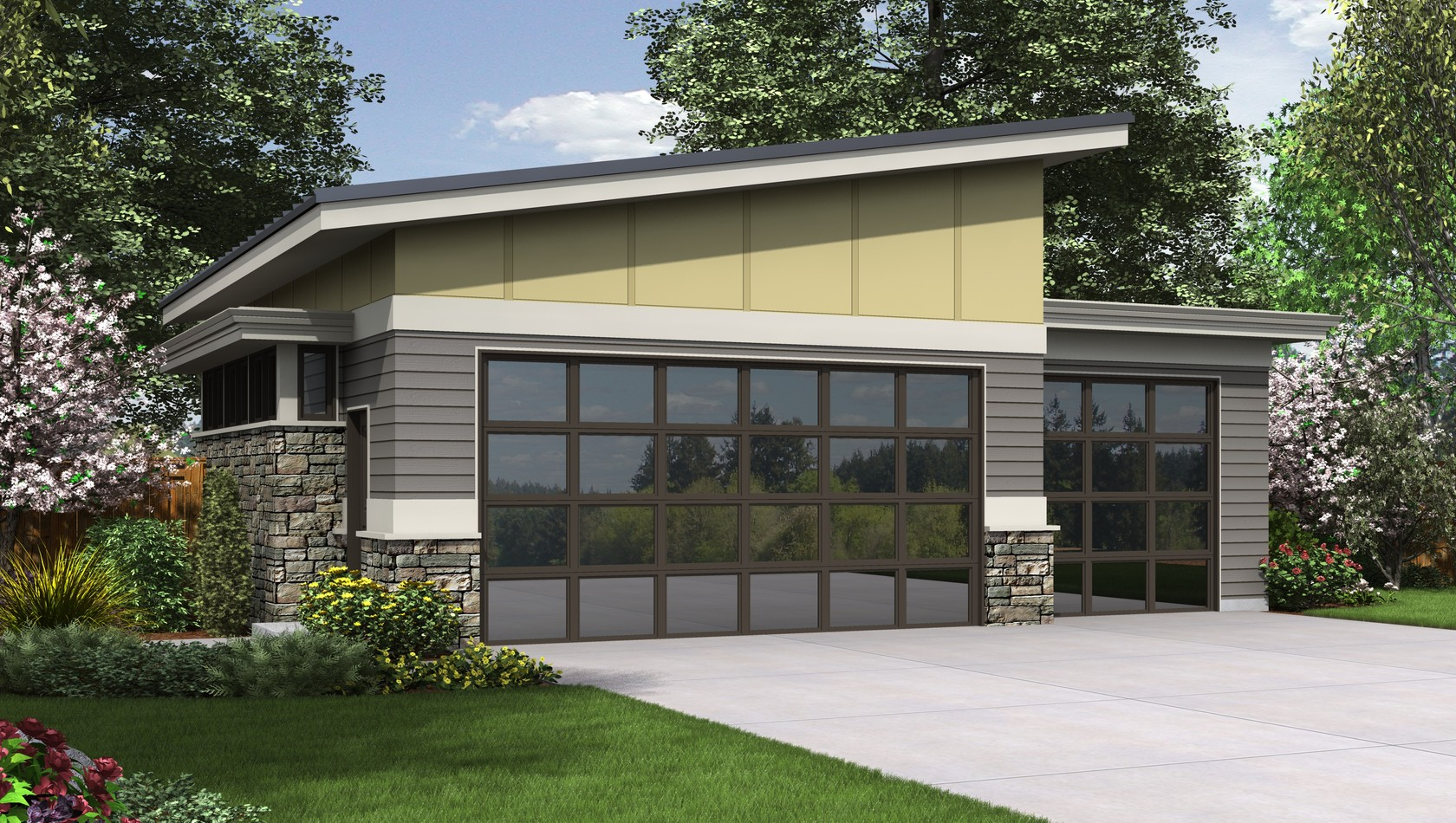 Contemporary House Plan 5036 The Shelby: 0 Sqft, 0 Beds, 1 ...