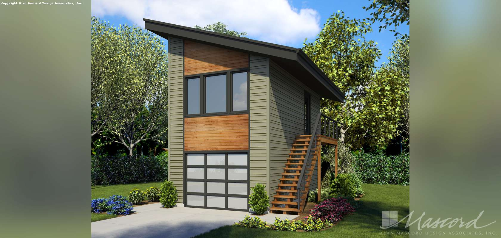 Mascord House Plan 5038: The Stratton