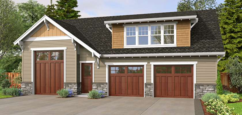 Mascord House Plan 5043: The Laguna