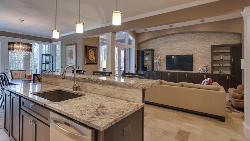 Image for Vidabelo-Elegant Craftsman with Double Master Suites-Kitchen