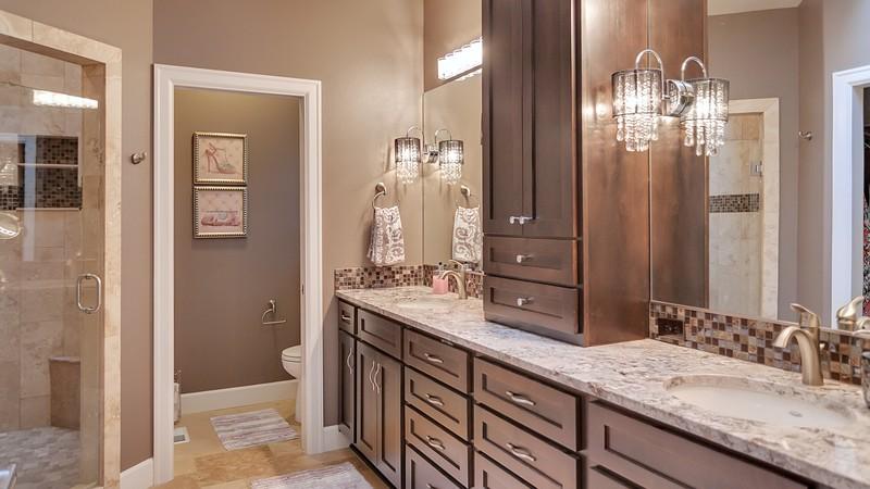 Image for Vidabelo-Elegant Craftsman with Double Master Suites-Master Bathroom
