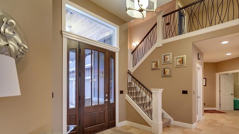 Image for Vidabelo-Elegant Craftsman with Double Master Suites-Foyer
