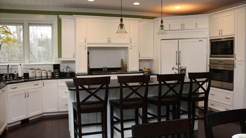 Image for Clearfield-Sloped lot daylight Craftsman-Kitchen