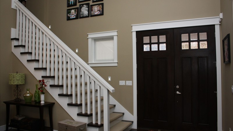 Image for Clearfield-Sloped lot daylight Craftsman-Foyer