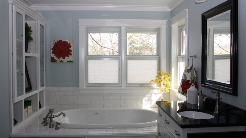Image for Clearfield-Sloped lot daylight Craftsman-Master Bathroom